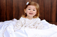 Macey in Mommy's Wedding Dress